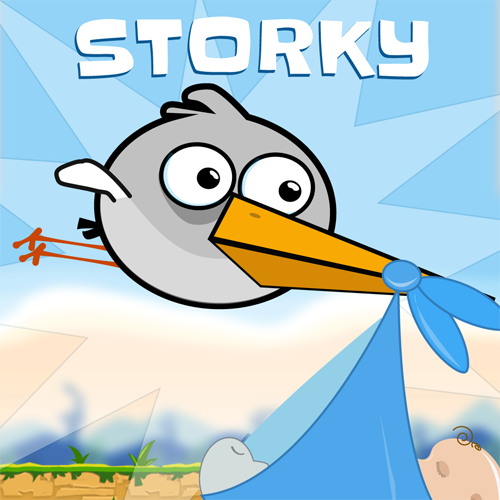 Illustrations, Storky - App icon